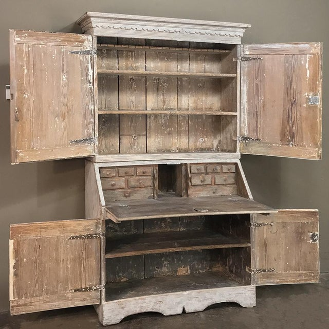 19th Century Swedish Painted Secretary For Sale - Image 10 of 13