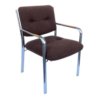 Mid-Century ChromCraft Chrome Arm Chair For Sale