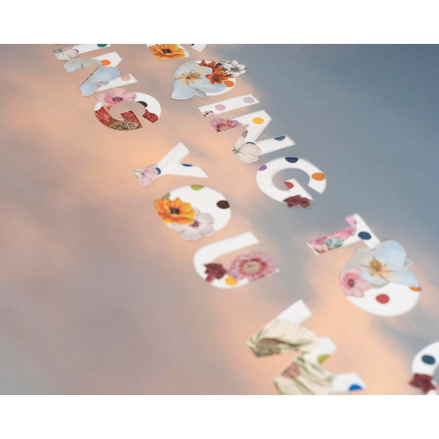 Contemporary You're Going to Get Everything by Emily Hoerdemann, Text Cutout Collage Series For Sale - Image 3 of 4