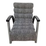 Image of 1970s Vintage Jay Spectre for Century Furniture Eclipse Lounge Chair For Sale