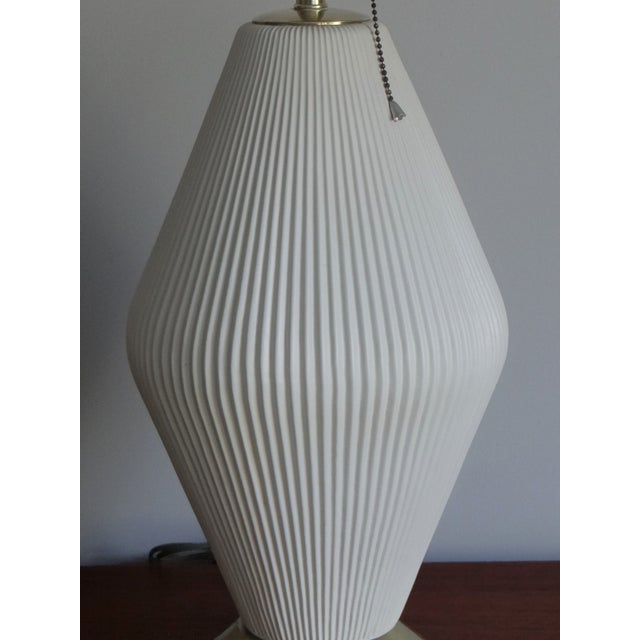 Mid-Century Modern 1950s Gerald Thurston for Lightolier Vintage Table Lamp For Sale - Image 3 of 8
