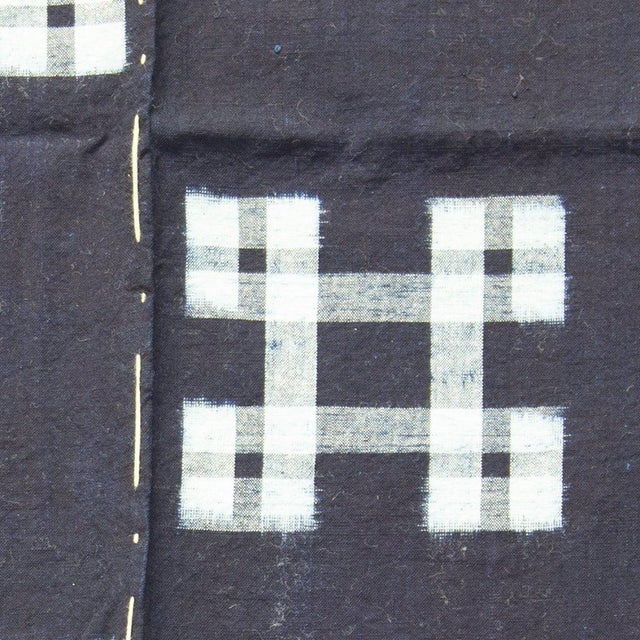 Japanese Japanese Kasuri Futon Cover For Sale - Image 3 of 4