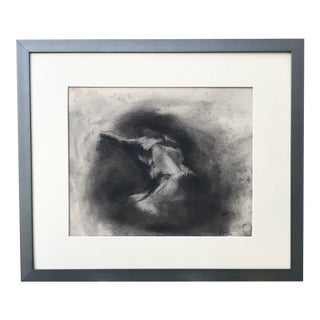 Vintage Figurative Abstract Expressionist Nude by Gerard Haggerty 1967 For Sale