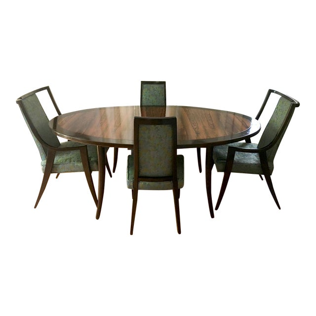 Harvey Probber Dining Table & Chairs For Sale In New York - Image 6 of 11