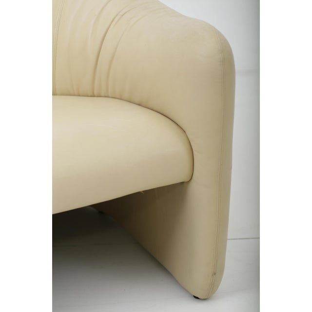 Leather Barrel Back Chairs, Metropolitan 1970's For Sale - Image 12 of 13
