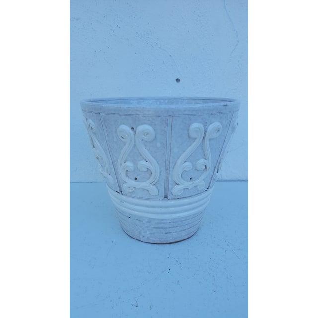 Italian Ceramic Planter Pot For Sale - Image 4 of 9