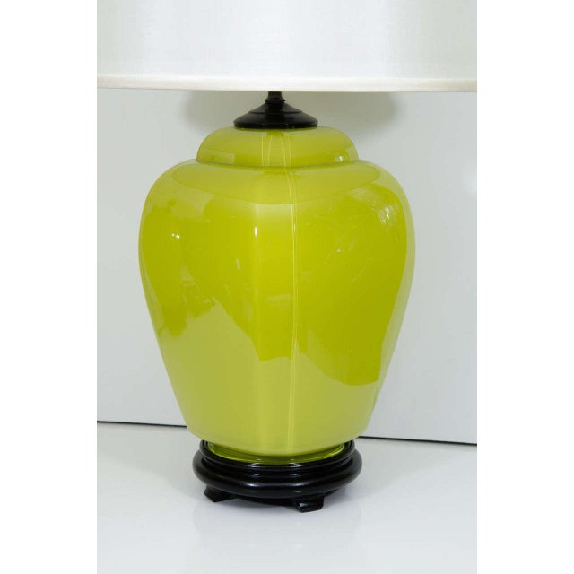 Not Yet Made - Made To Order Glass Lamps - A Pair For Sale - Image 5 of 6