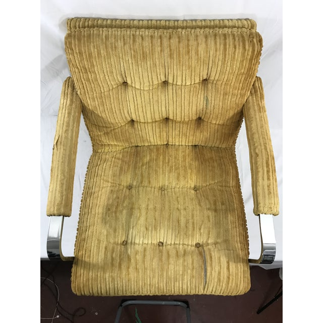 1970s Milo Baughman Arm Chair For Sale - Image 5 of 9