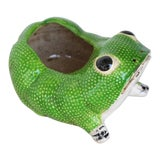 Image of 1970s Hobnail Frog Planter in the Style of Jean Roger For Sale