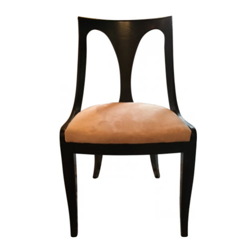 Mid 19th Century Kindel Belvedere Empire Armchairs & Side Chairs - Set of 6 For Sale - Image 5 of 6