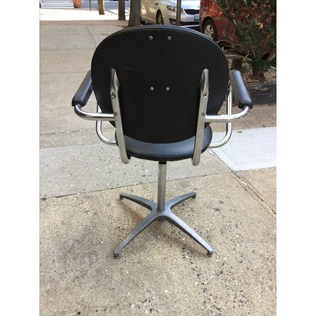 1960's Modern Chrome Desk Chair - Image 6 of 8