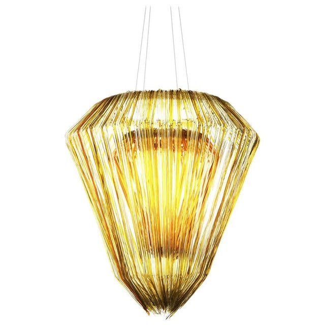 Not Yet Made - Made To Order Brilli E Chandelier in Gold Resin by Jacopo Foggini For Sale - Image 5 of 5