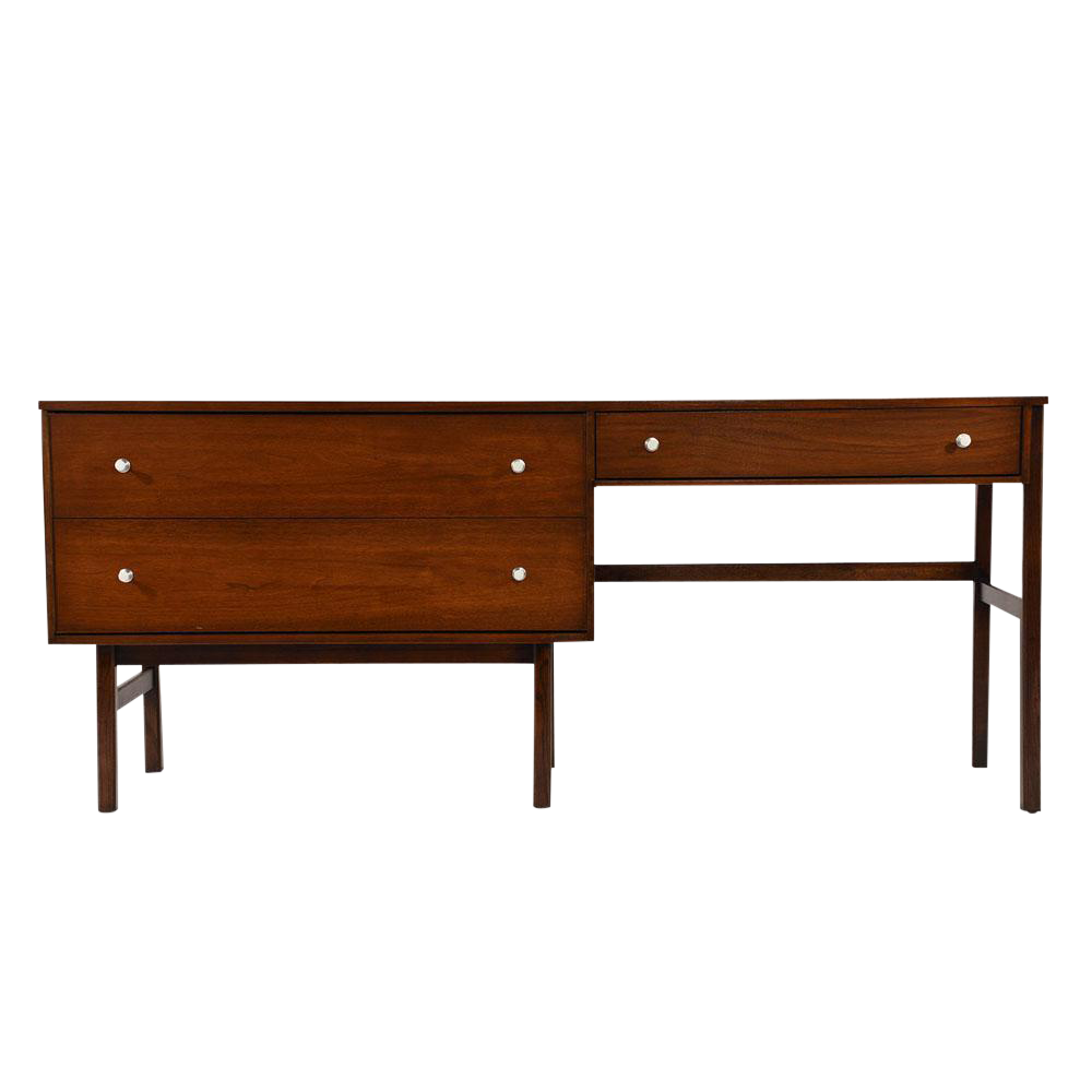 Beau Mid Century Modern Style Desk By Basset Furniture For Sale