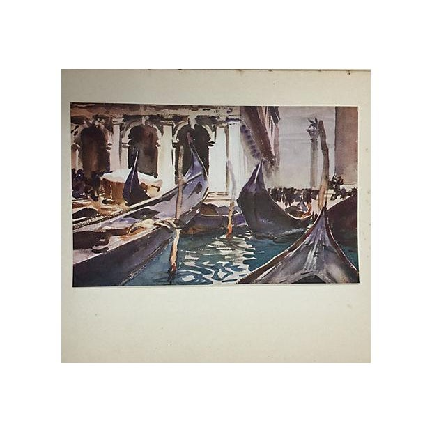 """"""" Famous Water Colour Painters"""" 1930 Book by J. S. Sargent - Image 5 of 10"""