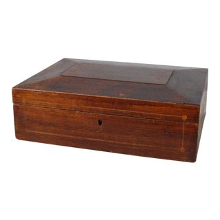 19th Century Antique Wooden Shaker Sewing Box For Sale