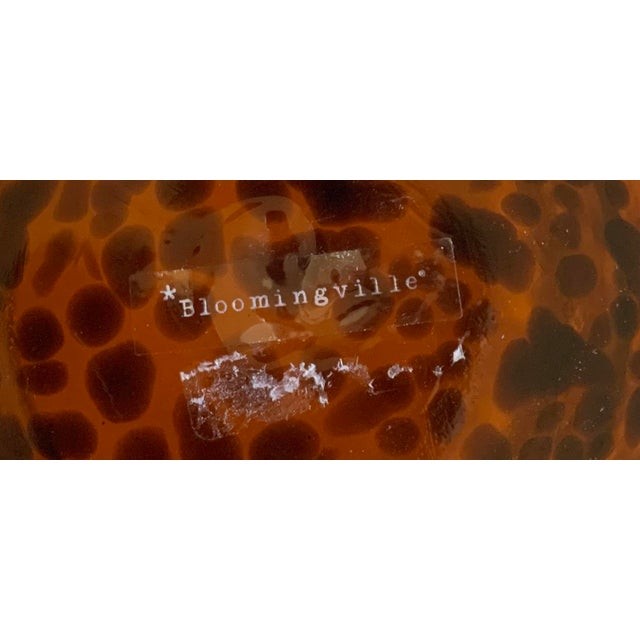 Bloomingville Tortoise Shell Glass Vase/Ice Bucket For Sale In New York - Image 6 of 7