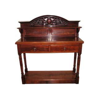 Buffet Bar Server England 19th Century Mahogany For Sale