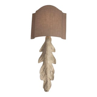 Penryn Wall Sconce in Beige For Sale