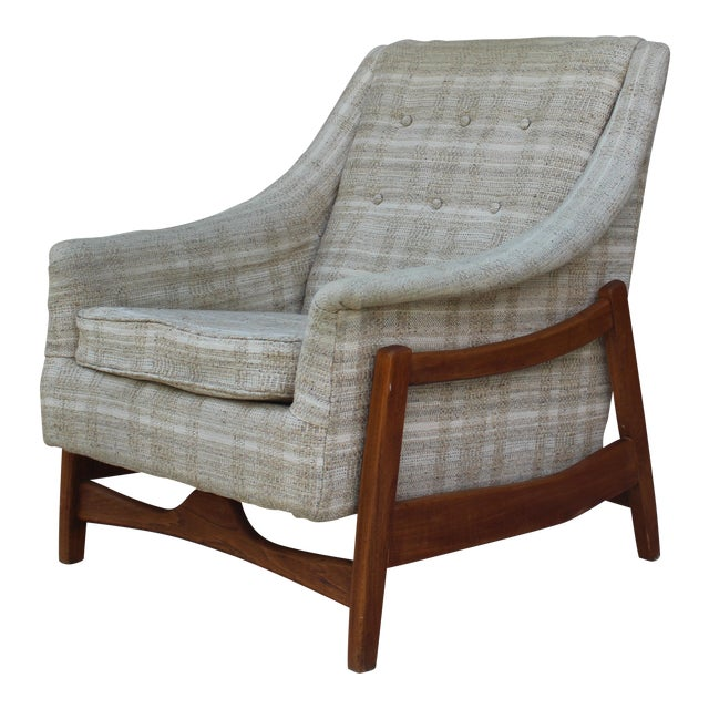 Mid-Century Paoli Rocking Lounge Chair For Sale