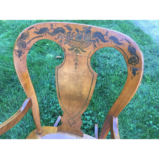 Tell City Balloon Back Rocking Chair - Image 3 of 8