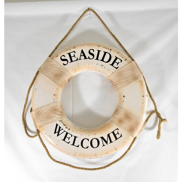 Vintage Nautical Life Ring For Sale - Image 5 of 7