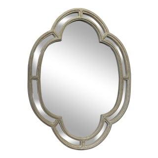 Modern Cloverleaf Wall Mirror For Sale