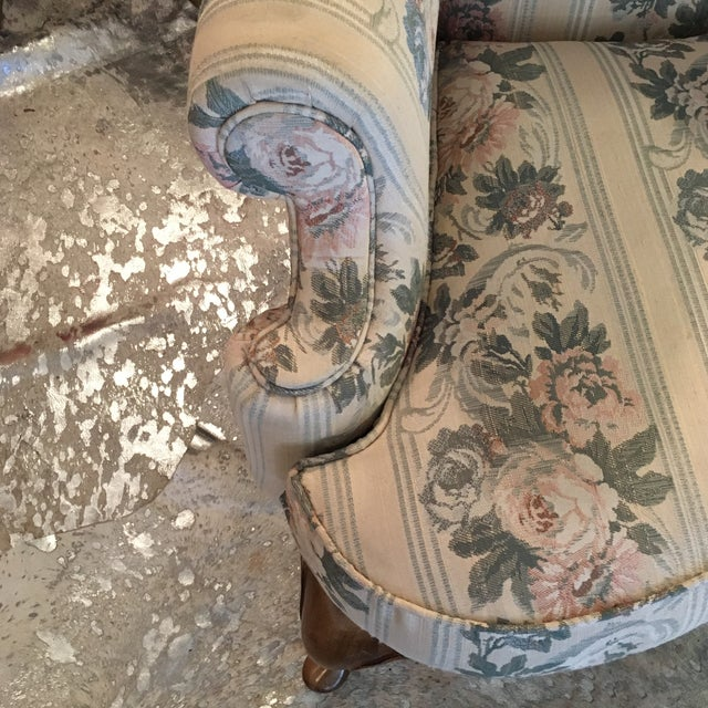 Pennsylvania House Chippendale Style Wingback Chair - Image 2 of 10