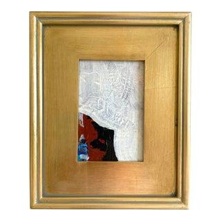 "Jessalin Beutler ""Little Sheep"" 2021 Framed Mini Painting For Sale"