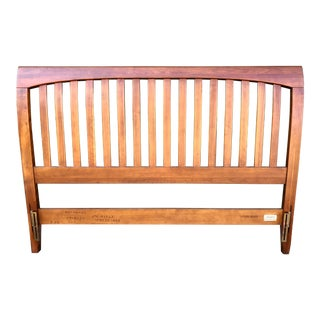 Ethan Allen Cherry New Impressions Queen Headboard For Sale