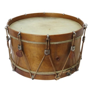 Antique Boston Made Wood Snare Drum
