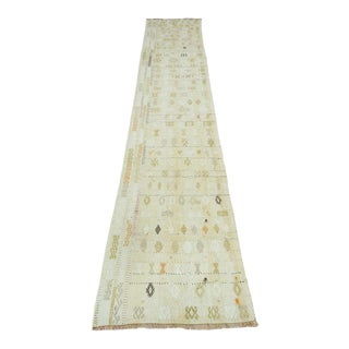 Anatolian Turkish Kilim Runner-2′1″ × 9′9″ For Sale