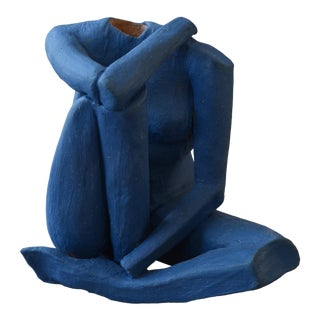 Contemporary Ceramic Figurative Maquette For Sale