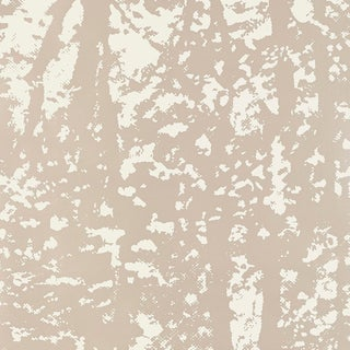 Schumacher Woodland Wallpaper in Sterling For Sale
