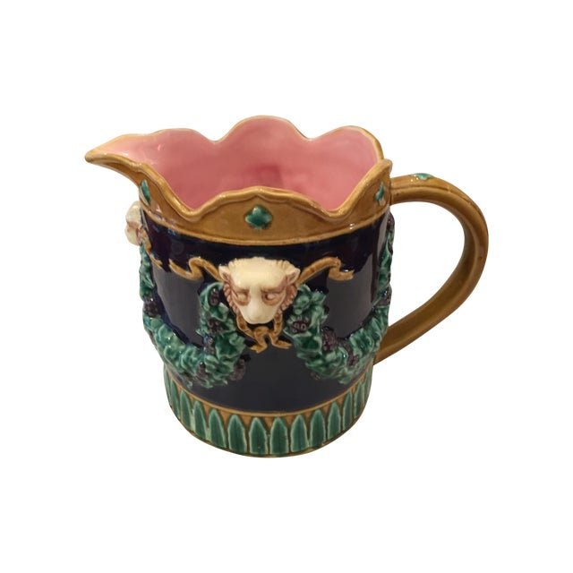 Fitz & Floyd Vintage Water Pitcher - Image 1 of 6
