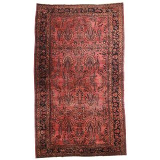 RugsinDallas Persian Hand Knotted Wool Lilihan Rug- 12′ × 20′ For Sale