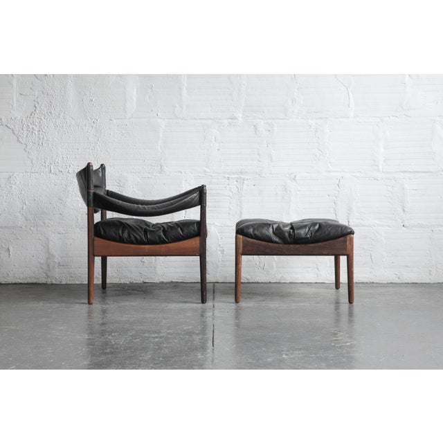 Kristian Solmer Vedel Modus Lounge Chair & Ottoman - Image 8 of 8