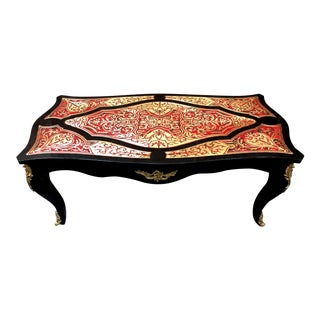 Boulle Coffee Table For Sale