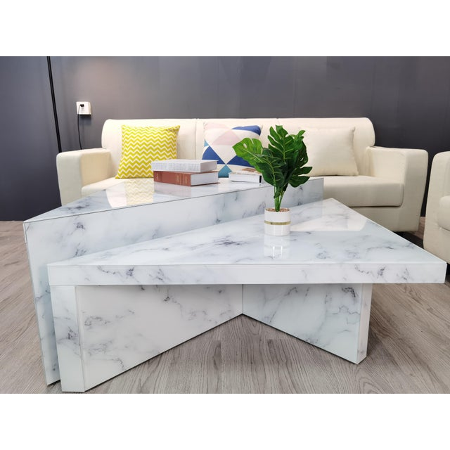 2020s Grace Modern Coffee Table - a Pair For Sale - Image 5 of 8