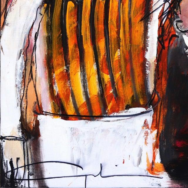 """One More Wine"" Original Artwork by Gerdine Duijsens For Sale - Image 4 of 9"