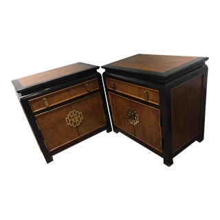 Century Furniture Chin Hua Nightstands - A Pair