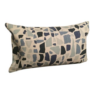 Lulu DK Blue Lumbar Pillow For Sale