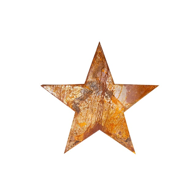 Handcrafted 3D Metal Star - Image 1 of 10
