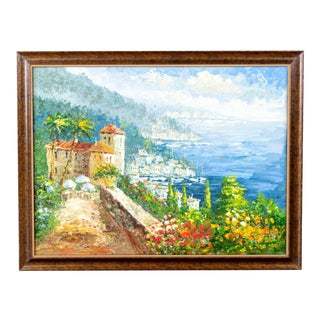 Framed Landscape Painting For Sale