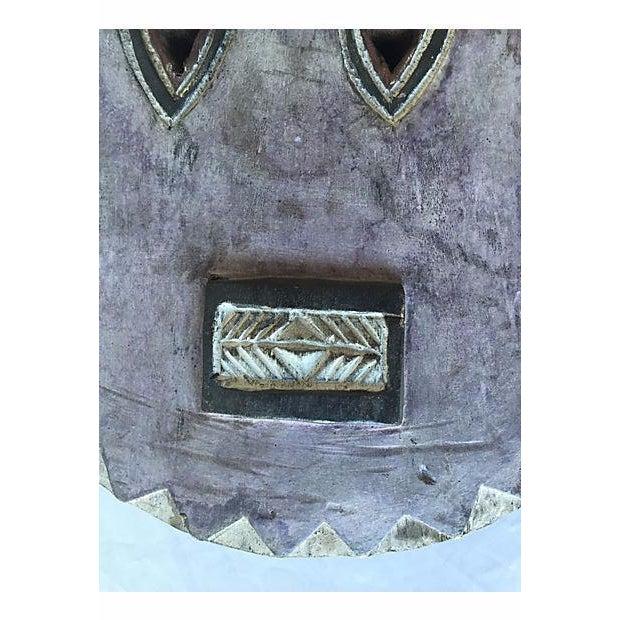 Antique African Baule Goli Horned Mask - Image 4 of 8