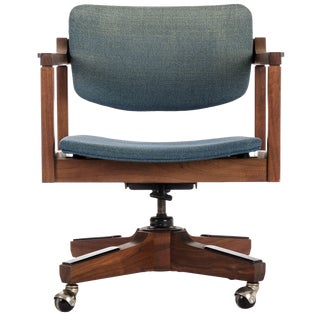 Danish Modern Office Chair by Marden For Sale
