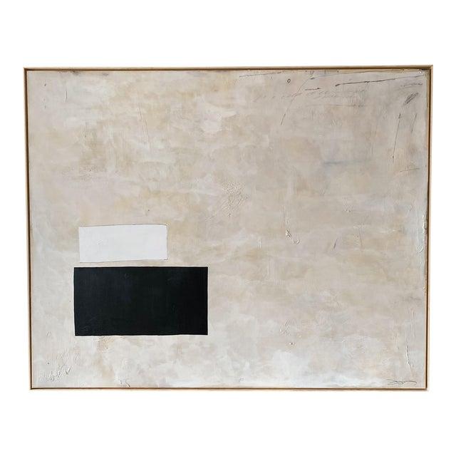 "Josh Young Design House ""Place De La Bastille"" Painting. Framed. For Sale"