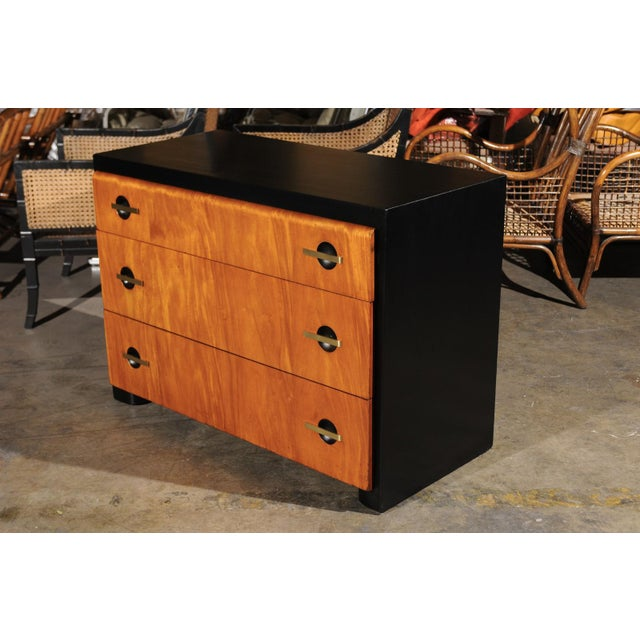 Magnificent Restored Streamline Moderne Commode by John Stuart, circa 1935 For Sale - Image 12 of 13
