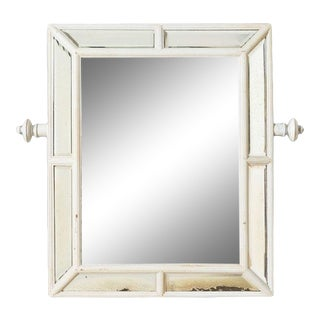 1920s Antique Beveled Mirror For Sale