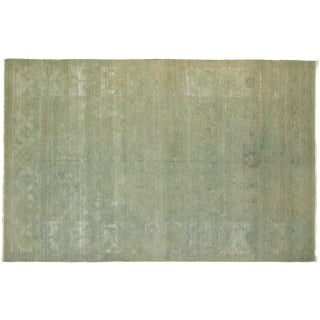 """Nalbandian - Contemporary Overdyed Egyptian Rug - 5'7"""" X 8'10"""" For Sale"""