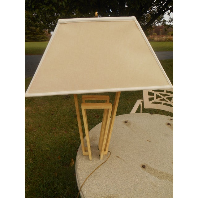 Custom Designer Handcrafted Metal Table Lamp - Image 5 of 7